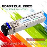 SFP de fibra duplo 1,25g 1310nm SFP 10km