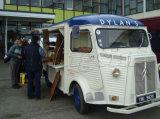 Vrachtwagen van het Voedsel van de Keuken van de Vrachtwagen van het Roomijs van China de Elektrische Mobiele voor Verkoop