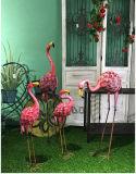 Gift 2 van het Ornament van het Beeldhouwwerk van de Flamingo van de Kunst van de tuin Roze