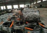 Cerca de arame farpado / Arame farpado galvanizado amplamente exportados para a América do Sul
