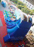 Tropische Wellen-aufblasbares Wasser-Plättchen Chsl671