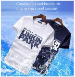 Модный хлопчатобумажной ткани мужские футболки