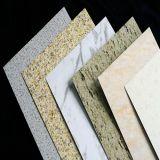Dekorativer Stein-Marmor-zusammengesetztes Material-Aluminiumwand