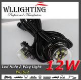 6LED X3w가 호박색 LED 은신처 스트로브에 의하여 점화한다