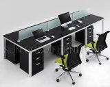Klassiek Zwart Elegant Werkstation 6 van het Bureau van het Ontwerp Zetel (sz-WSL305)
