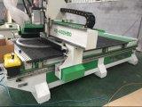 Fabricação de móveis em painéis Máquinas de corte de madeira CNC com sistema de carga e descarga