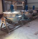 Camisa de gas de 100L forrados de inclinación de la tetera tetera (ACE-gcc-AV)