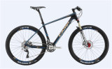 MTB Bike PRO 2.0 (shimano chainwheel + FD + RD + shifter) (estrutura de carbono + handerbar + haste + poste de assento)