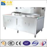 中国の食糧商業調理装置の電気中華なべ