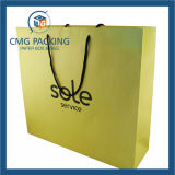 Gefaltetes Colorful Kraftpapier Paper Bag für Garment (CMG-MAY-054)