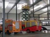 普通消防車のスライバアルミニウム圧延シャッタードア