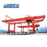 Rmg 40 тонн кран контейнера Gantry прогона 50 тонн установленный рельсом двойной