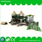 Спортивная площадка пластичных детей игр парка атракционов напольная для сбывания (KP160429E)