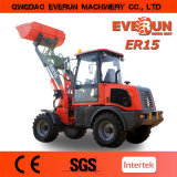 Everun Brand CER EPA Approved 1.5ton Multi-Function Wheel Loader Farm Machinery Shovel Loader