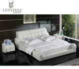 A043 جلد سرير تصميم جديد أثاث غرفة نوم