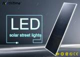 luz de rua solar Integrated do controle do APP do telefone da eficiência 90W elevada