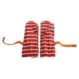 Полоса красного цвета PU водонепроницаемый датчик дождя и освещенности Mitten/дождя/трость с Buttom вещевого ящика для ребенка/Chilid