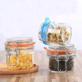 Vaso di vetro variopinto della caramella del biscotto del vaso di memoria dell'alimento del vaso della cucina