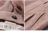 Baumwollgelbe Mädchen-Sahnehose 100%