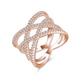 Boucle d'or annexe de mode de bijou de vente en gros d'imitation d'usine avec le Zircon