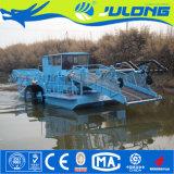 装置かWeedの水生収穫機を切るJulongの水生植物