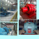 Idro (acqua) turbo-alternatore/idropotenza dell'elica verticale