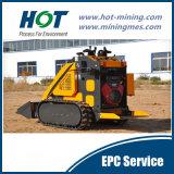 小型ローダーを採鉱する小型スキッドの雄牛のローダーの構築機械
