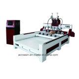Multi macchina del router di CNC di falegnameria delle teste con la Tabella di adsorbimento di vuoto per incisione, taglio, perforazione, intagliante portello di legno