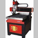 6090 CNCのルーターを刻む小型木製の切断の金属を広告する趣味