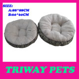 Weiches bequemes Flanell-Hundebett (WY161076-1A/B)