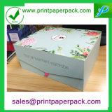 A annoncé le cadre de papier de empaquetage de produits de beauté de carton pliable de luxe