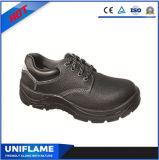 Ufa034安い安全靴のHotsellingの黒い安全靴