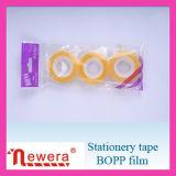 Лента канцелярских принадлежностей упаковки ясной пленки BOPP слипчивая