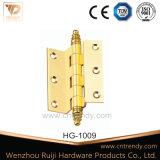 Dobradiça de porta quadrada polida Bradd, Dobradiça de descarga (HG-1010)