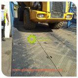 Schwarzes/Whitte temporäre UHMWPE zusammengesetzte Bodenschutz-Matten für Hochleistungsstraße