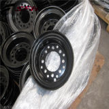 Rotella dell'orlo e rotella d'acciaio del carrello elevatore di spaccatura (3.00-6)
