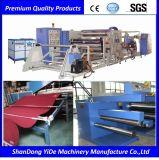 PVC 환경 보호 최신 용해 살포 두 배 색깔 차 지면 매트 플라스틱 압출기 기계