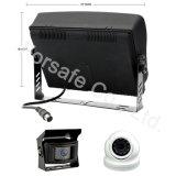 Visión de máquina coche espejo con el sistema de cámara de 10,1 pulgadas Ahd único Monitor de seguridad de la visión para la granja