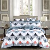 Nuovo assestamento domestico stampato del cotone della tessile di ultimo disegno 2018