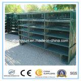 牧場(ISO9001)のための力によって塗られる電流を通された鋼鉄馬の畜舎のパネル