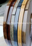 Bande faite à l'usine de bordure foncée de PVC de modèle populaire pour le Module de meubles