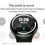 심박수 모니터 X3를 가진 3G GPS Bluetooth 지능적인 시계