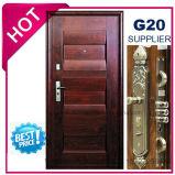 Porta de aço exterior do ferro da melhor segurança do preço (EF-S007)