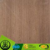Papel decorativo de Resisitant de la melamina de madera ULTRAVIOLETA del grano para el suelo