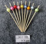 格好良いバーベキューのツールのタケ焼串か棒または一突き(BC-BS1038)