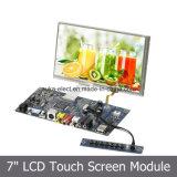 """video di colore dell'affissione a cristalli liquidi di 7 """" TFT con l'input del VGA di HDMI"""