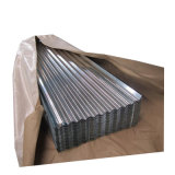 Tôles laminées à froid galvanisé recouvert de zinc DIP à chaud de tôle en acier ondulé