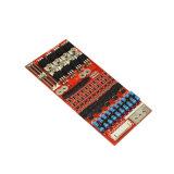 LiFePO4 PCM PCB/PCBA van de Batterij van het Lithium IonenRaad 10s 16A Slimme BMS