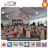 Роскошный большой партии свадьбы палатку в рамке с художественным оформлением