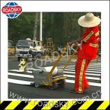Ligne adhésive intense bande r3fléchissante de sûreté de marquage routier de talons en verre
